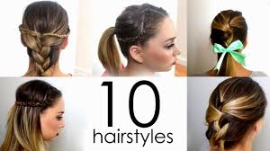 Easy Hairstyles On The Go Quick Easy Hairstyles For Medium Length Hair Hairstyles Ideas