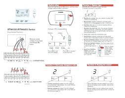installing digital thermostat installing honeywell digital installing