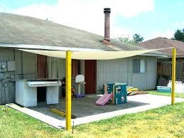 patio shade outdoor canopy blinds deck ideas backyard diy bli