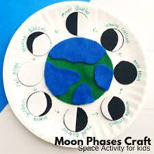 Phases Of The Moon Chart For Kids Moon Phases For Kids Little Bins For Little Hands