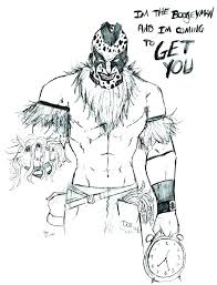 Wwe Coloring Pages Printable Coloring Pages Wwe Coloring Pages