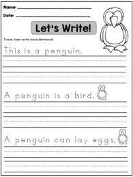 Handwritting Practice Winter Handwriting Practice Sentences Handwriting