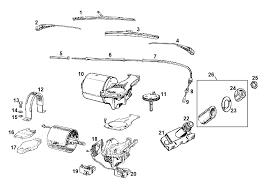 mgb windscreen wiper system 1968 on