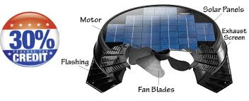Solar Star Attic Fan