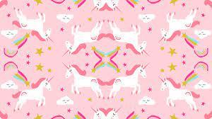 Cute Unicorn Desktop Wallpaper
