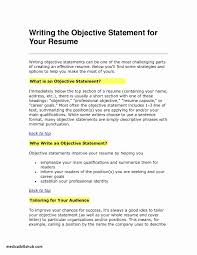 Career Goals Examples Luxury Occupational Goals Examples Resumes Resume Ideas