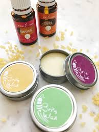 diy homemade lip balm made with essential oils coconut oil beeswax and essential oils