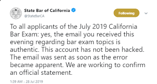Bar Exam Essays California Bar Exam Essay Leak Bar Exam Wizard
