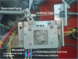 mise en oeuvre du potentiomètre curtis pb 6 Curtis Pb 6 Wiring Diagram accélérateur pb6 avec câble et ressort curtis pb-6 pot box wiring diagram