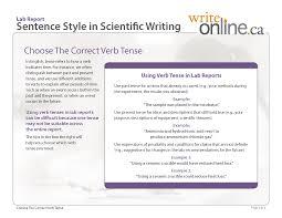 vs report style essay vs report style