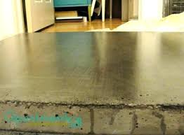 sealing concrete with polyurethane top coat sealer how to seal food safe countertop best by topical