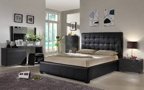 Modern Queen Bedroom Sets Bedroom Design Adorable Mirrored Chest Of Drawers Modern Black