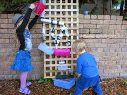 learn with play at home how to make a water wall for kids