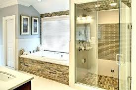 stand up shower bathroom designs