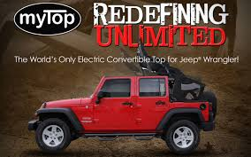 2018 jeep electric top. fine top mytop is an allelectric convertible soft top for the jeep wrangler that  finally delivers on promise of utility and adventure intended 2018 jeep electric j