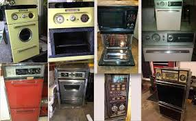 six vintage wall ovens ercup