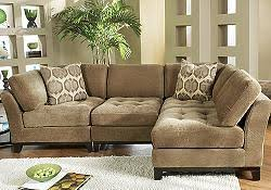 Sectional Sofa Design Chenille Sectional Sofa Chaise Ottoman