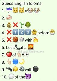 Whatsapp Puzzles Guess The English Idioms And Phrases From