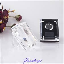 Gem Display Stands Acrylic Loose Diamond Display Holder Case Wedding Gem Gemstone 13