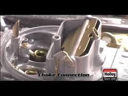 installing setting manual or electric choke on holley carburetor quadrajet electric choke wiring at 85 C10 Choke Wiring Diagram