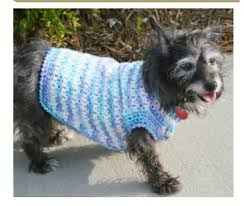 Free Crochet Dog Sweater Patterns Interesting Free Crochet Doggie Sweater Pattern