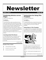 sample company newsletter 6 sample company newsletter templates yurpp templatesz234