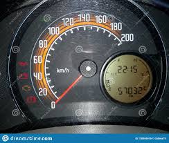Toyota Celica Check Engine Light Dashboard In Closeup Stock Photo Image Of Closeup Used
