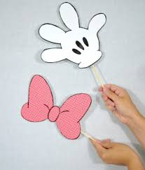 disney photo booth props by cozy reverie