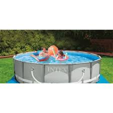 Tubulaire Ronde Piscine Tubulaire Ronde Intex Metal Frame