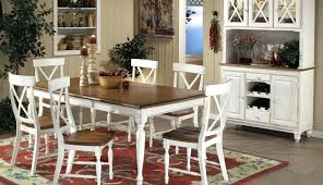 dining room table displays chairs white and blue round target room display ideas modern set table