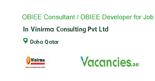 Obiee Developer Obiee Consultant Obiee Developer For Qatar Job In Vinirma