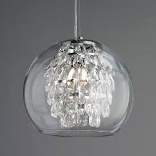 crystal mini pendant lighting for kitchen using swarovski teardrop beads and warm yellow led light bulb