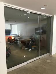 glass door divider brooklyn nyc