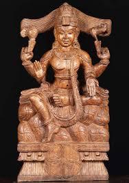 wooden shiva sculpture 24