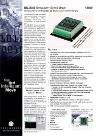 ibl3605 intelligent servo drive 1 2 pages