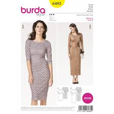 Burda Patterns Fascinating Burda Pattern 48 Women's Dresses Sewing Patterns From Burda