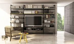 the gravity collection custom wall unit
