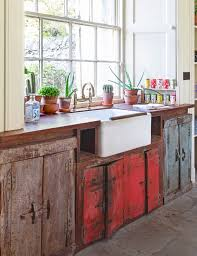 vintage kitchen ideas using reclaimed materials eclectic styling