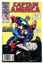 Captain America #325 1986- 1st appearance of Priscilla Lyons NM- | eBay