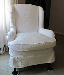 wingback chair slipcovers diy best home interior 2017 diy sew slipcover for wingback chairs southnext us