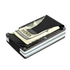 We also guarantee that our pocket and desktop card holders and pocket business card cases will keep your business cards in pristine condition for life, or we'll replace it free. Business Card Holder Wallet Carbon Fiber Nar Media Kit