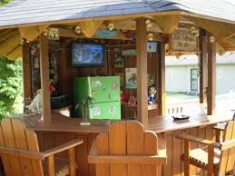 pool house tiki bar. Exellent Bar Diy Tiki Bar By Above Ground Pool  My Tiki Bar A Cool Place To To Pool House Bar I
