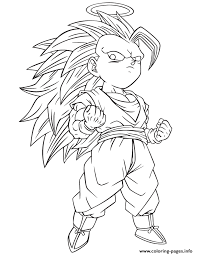 Select from 32084 printable crafts of cartoons, nature, animals, bible and many more. Dragon Ball Z Gotenks Coloring Page Coloring Pages Printable