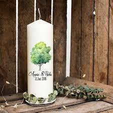 Taufkerze Kerze Zur Hochzeit Baum Spruch Liebe Wk6 Etsy