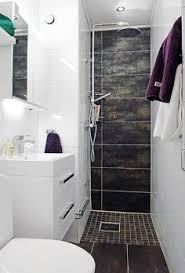 small narrow bathroom ideas. Tiny Shower-Small Strip Ensuite, Having The Floor Tiles Go Up Skinny Wall In Shower Creates Depth And Interest. Bathroom Small Narrow Ideas L