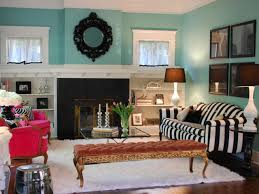 striped sofas living room furniture. Turquoise Wall Living Room With Striped Black And WHite Sofa Near Fireplace Long Bench White Sofas Furniture T