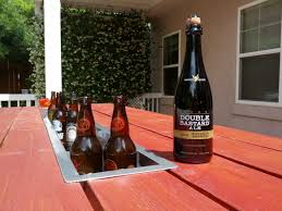Table With Drink Trough Beer Trough Picnic Table Http Wwwredditcom R Diy Comments