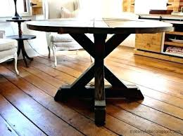 pedestal table base diy how to build a round table base i built this circular dining