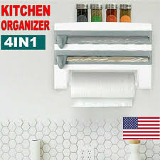kitchen wall mounted paper towel holder