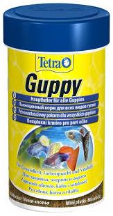 Сухой <b>корм</b> для рыб <b>Tetra Guppy</b> — купить по выгодной цене на ...
